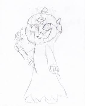 Jack, the Pumpkin Pirate king