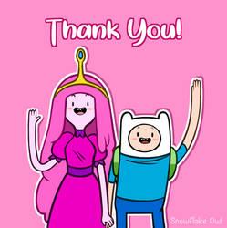 Finn and Princess Bubblegum - Commission