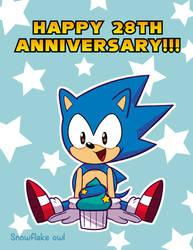 Sonic 28th anniversary!