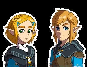 BoTW 2 Zelda Link