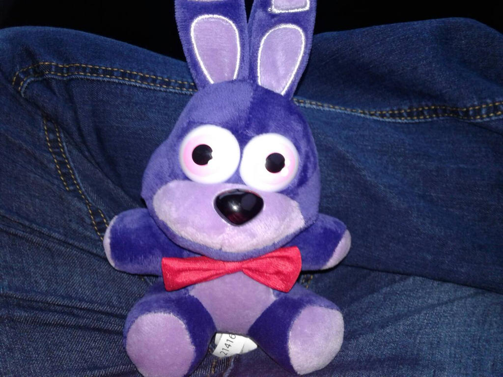 Bonnie The Bunny Plushie  by Lexi-Fazbear
