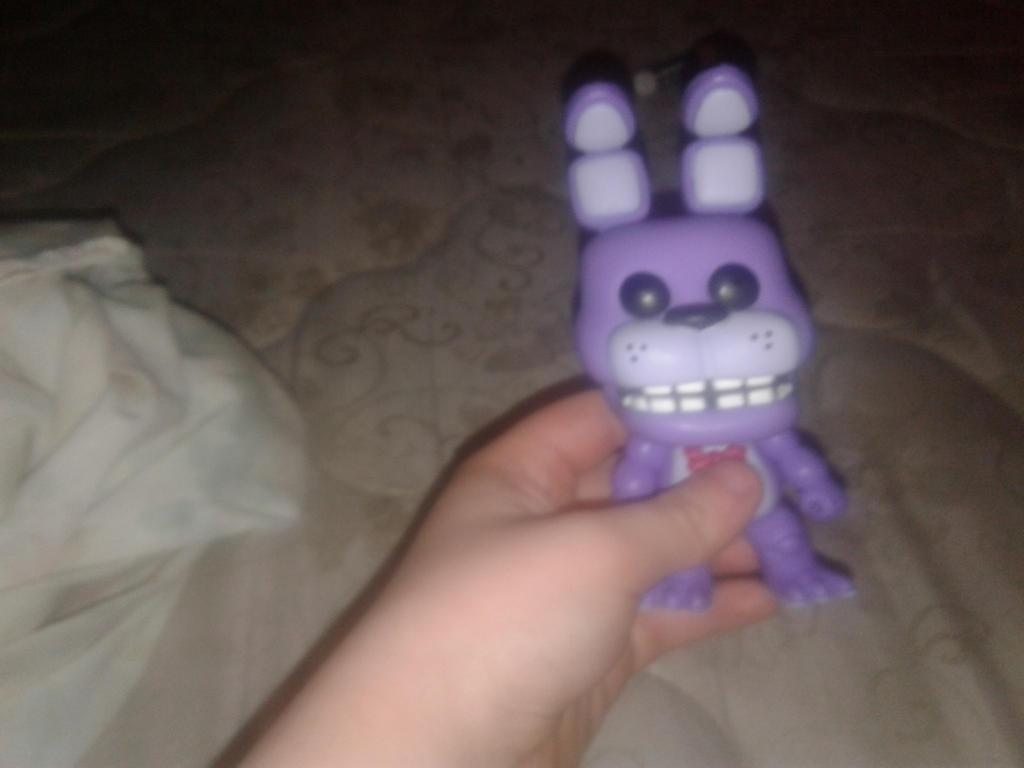 my Funko Bonnie Figure  by Lexi-Fazbear