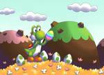 Yoshi and Easter Egg
