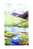Watercolor by Luchooo