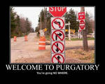 Purgatory Demotivator