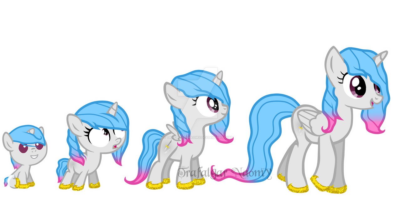 Oc Rpc My Little Pony Beverly Age Chart By