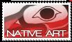 Native Art Stamp by BlueHemlock