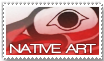 Native Art Stamp by BlueHemlock