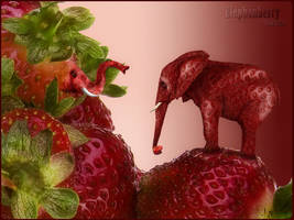 Elephanberry by GrafArtClub