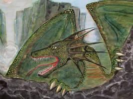Wild dragon by GrafArtClub