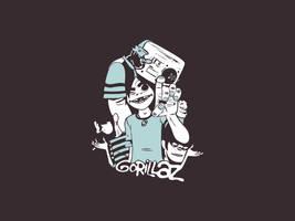 ...freaky Gorillaz... by GrafArtClub