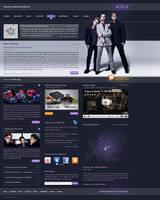 Depeche Mode template v. 2 by GrafArtClub
