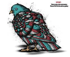 Birdy Bird by GrafArtClub