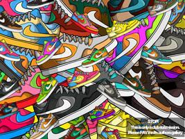 Nike spam by GrafArtClub