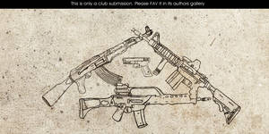Guns By Shoot3r by GrafArtClub