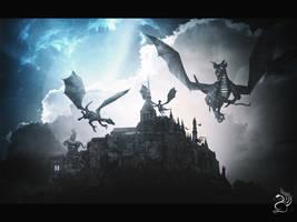The Dragon's Nest by GrafArtClub