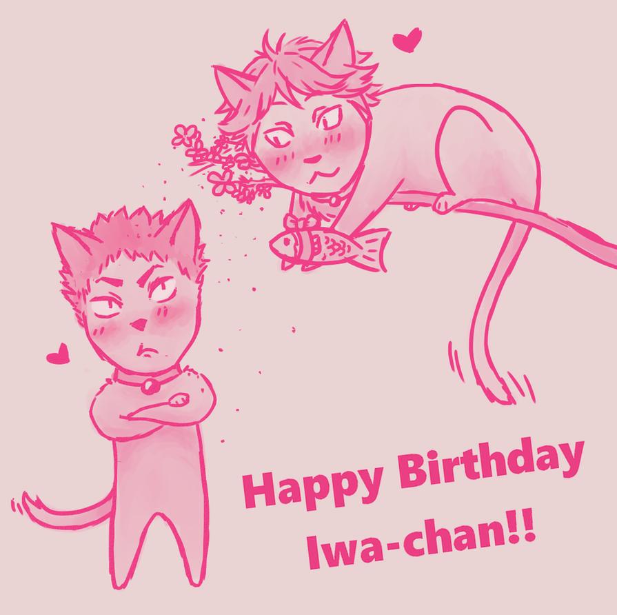 Happy Birthday Iwa-chan!! by Redbell9