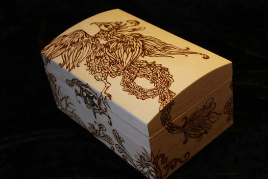 Phoenix Chest - uncolored - From above by MemMor