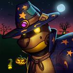 Scrappy halloween