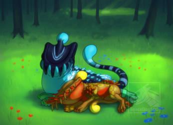Cuddles by SpaceDog500