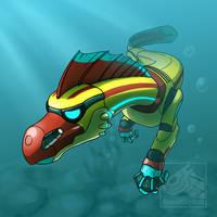 Keyo swimming
