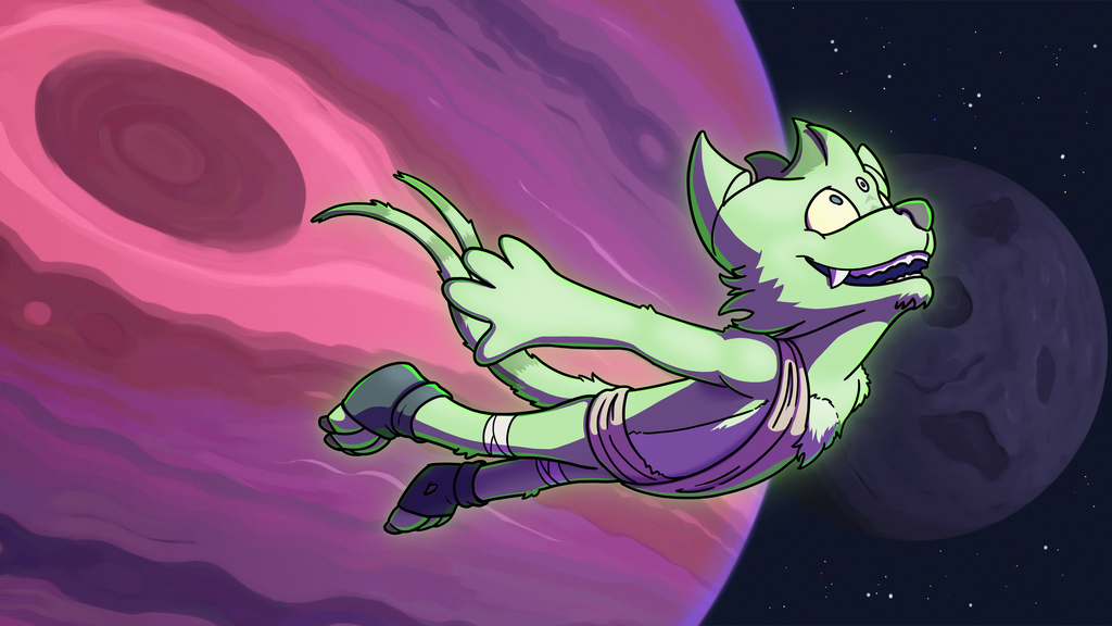 YarkWark space adventure