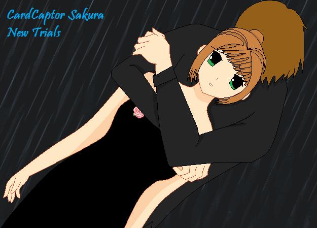 Sakura and Syaoran by animefreak909