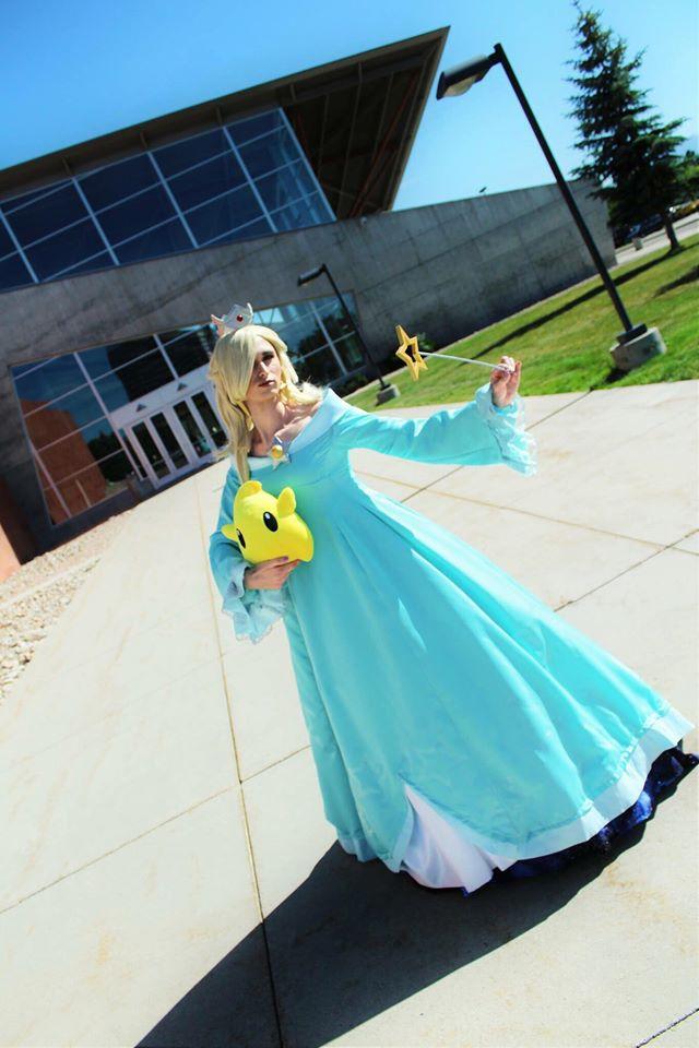 Rosalina and luma cosplay