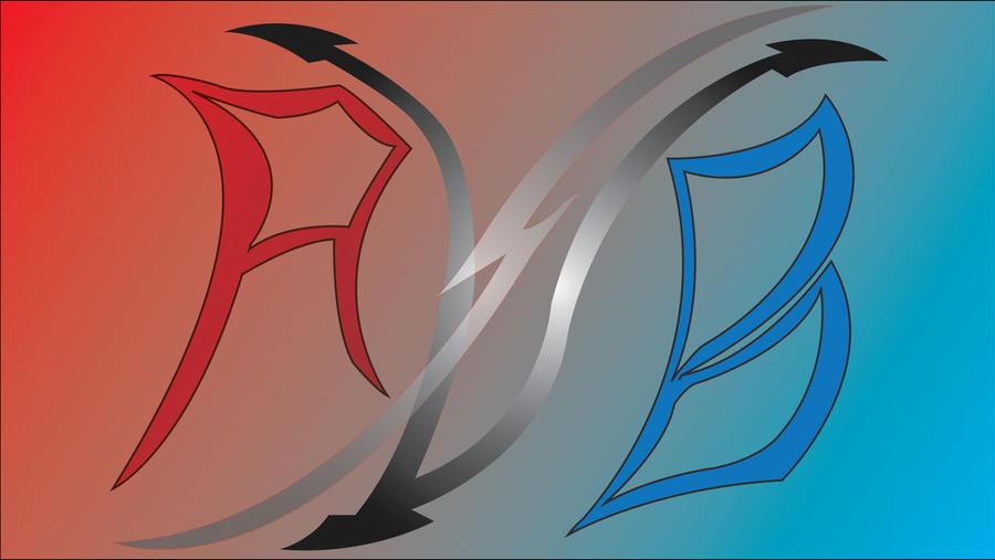 Red vs Blue Fan Art Logo