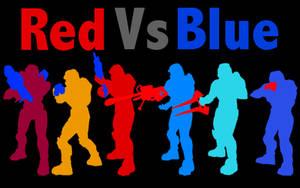Red vs Blue Gang by DanTherrien101