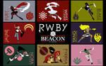 RWBY and JNPR Collage