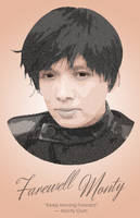 Monty Oum Tribute (Typographic Portrait) by DanTherrien101