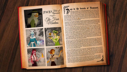 RWBY: Tales of Remnant 'The Four Maidens' by DanTherrien101