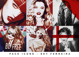 Blackstars ☯. Icons___sky_ferreira__by_madamemorgenstern-d6gct4e