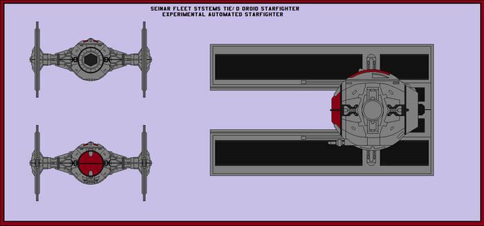 TIE/D Experimental Droid Starfighter