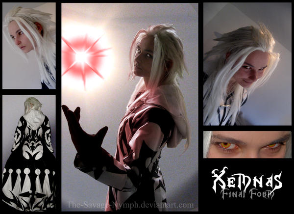 Xemnas - Final Form by The-Savage-Nymph