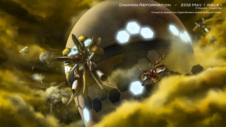Digimon Reformation - 2012 May Issue 1
