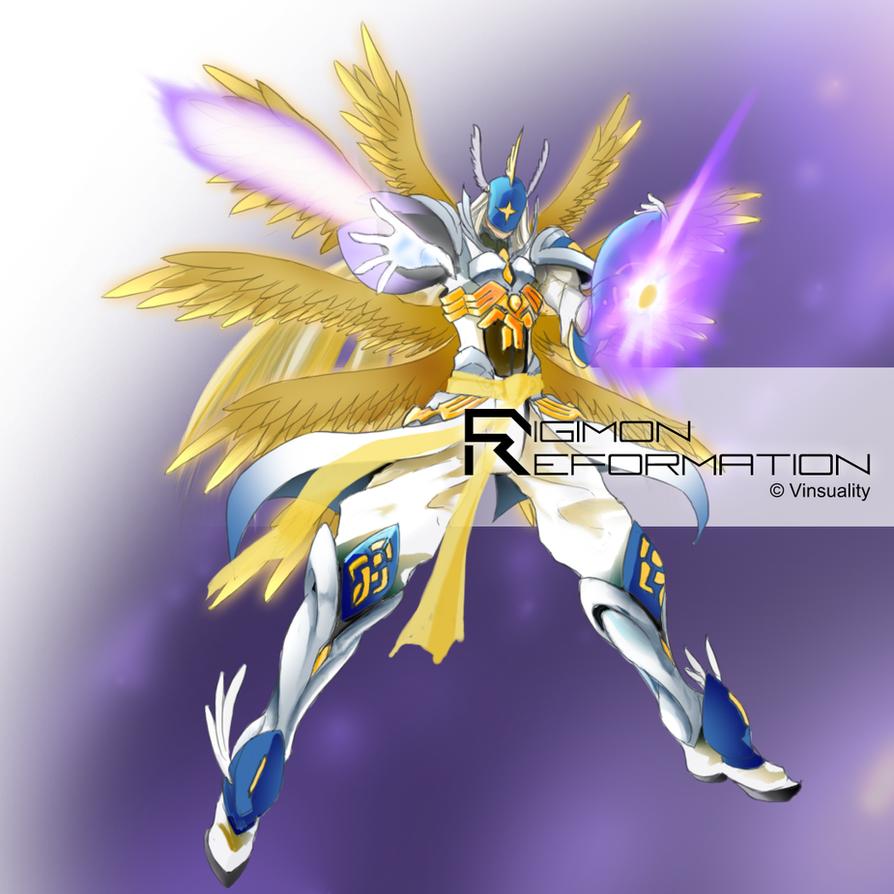 Seraphimon Wallpaper Digimon Reformation - ...
