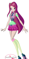 Winx Club Roxy 7th season outfit