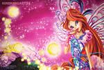Bloom Butterflix Wallpaper