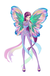 Roxy Dreamix Concept [Wings Updated] by HimoMangaArtist