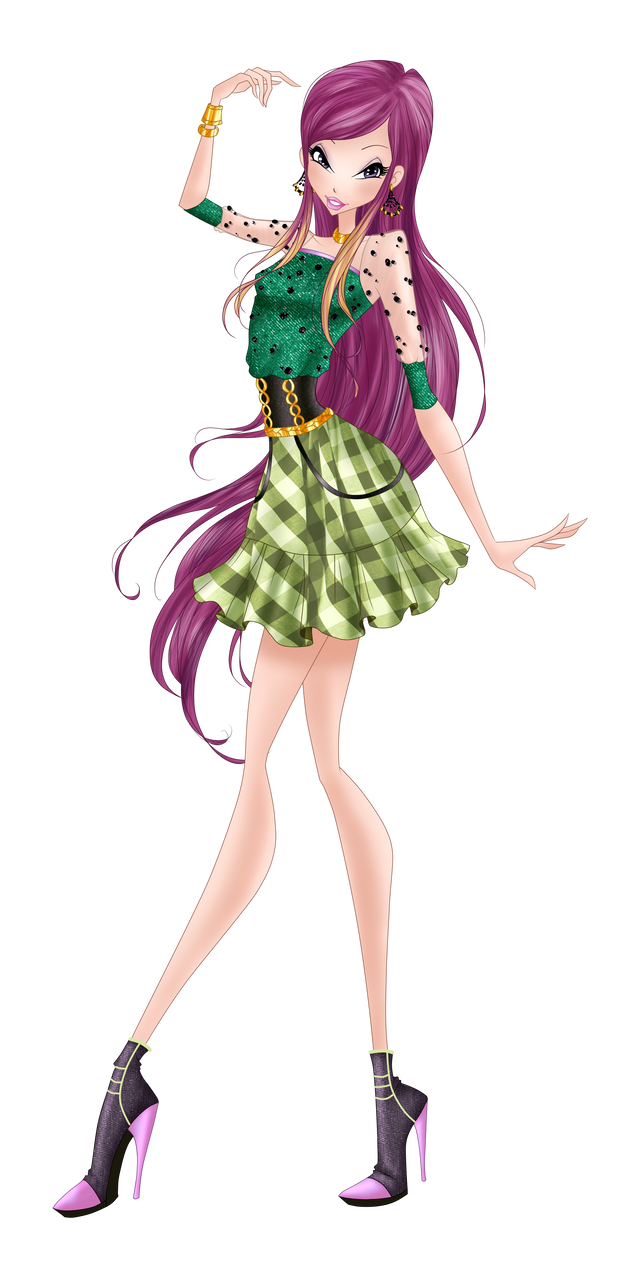 Roxy  Checkered Chic by HimoMangaArtist