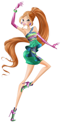 Flora Pop Star Couture by HimoMangaArtist