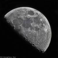 The moon at 1300mm