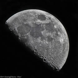 The moon at 1300mm