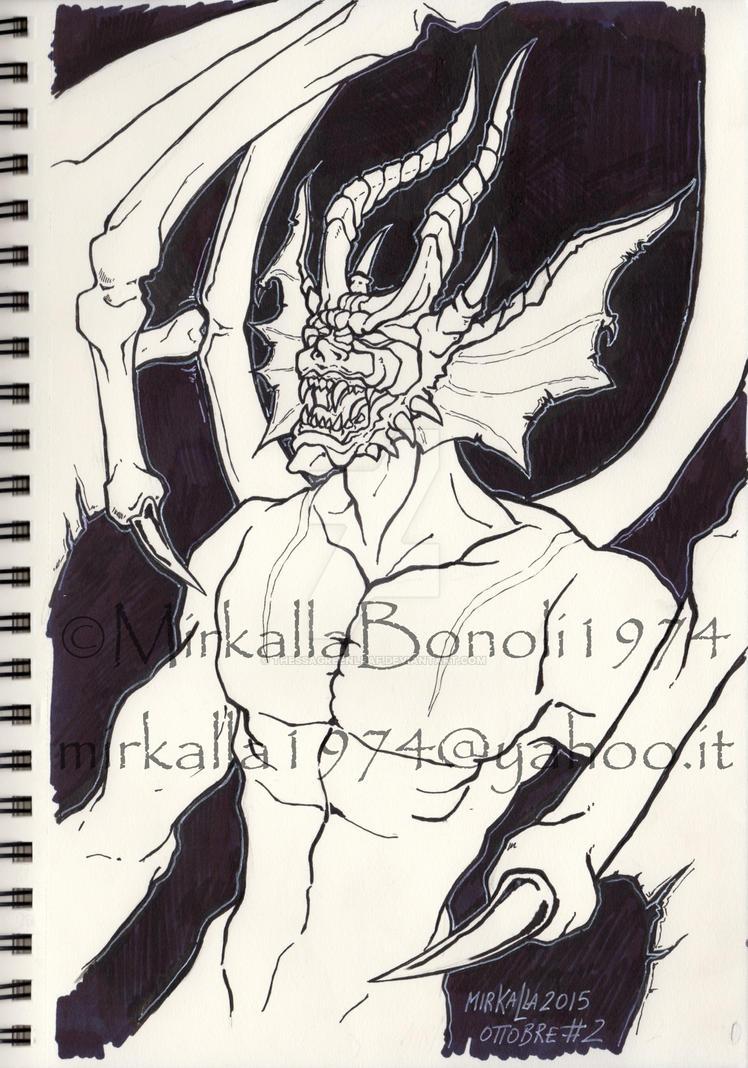 DEVIL by ThessaGreenleaf