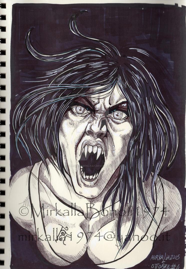 vampire by ThessaGreenleaf
