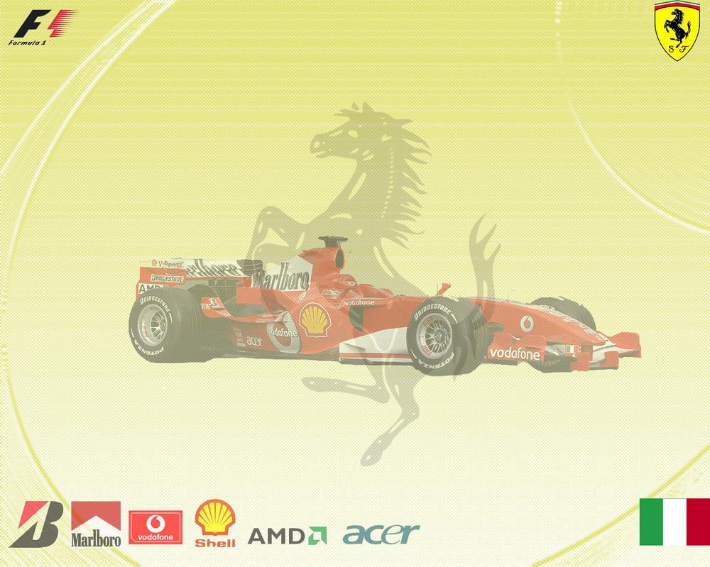 Ferrari formula 1 wallpaper by BoomerAang