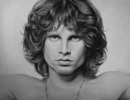 Jim Morrison by Peepholee