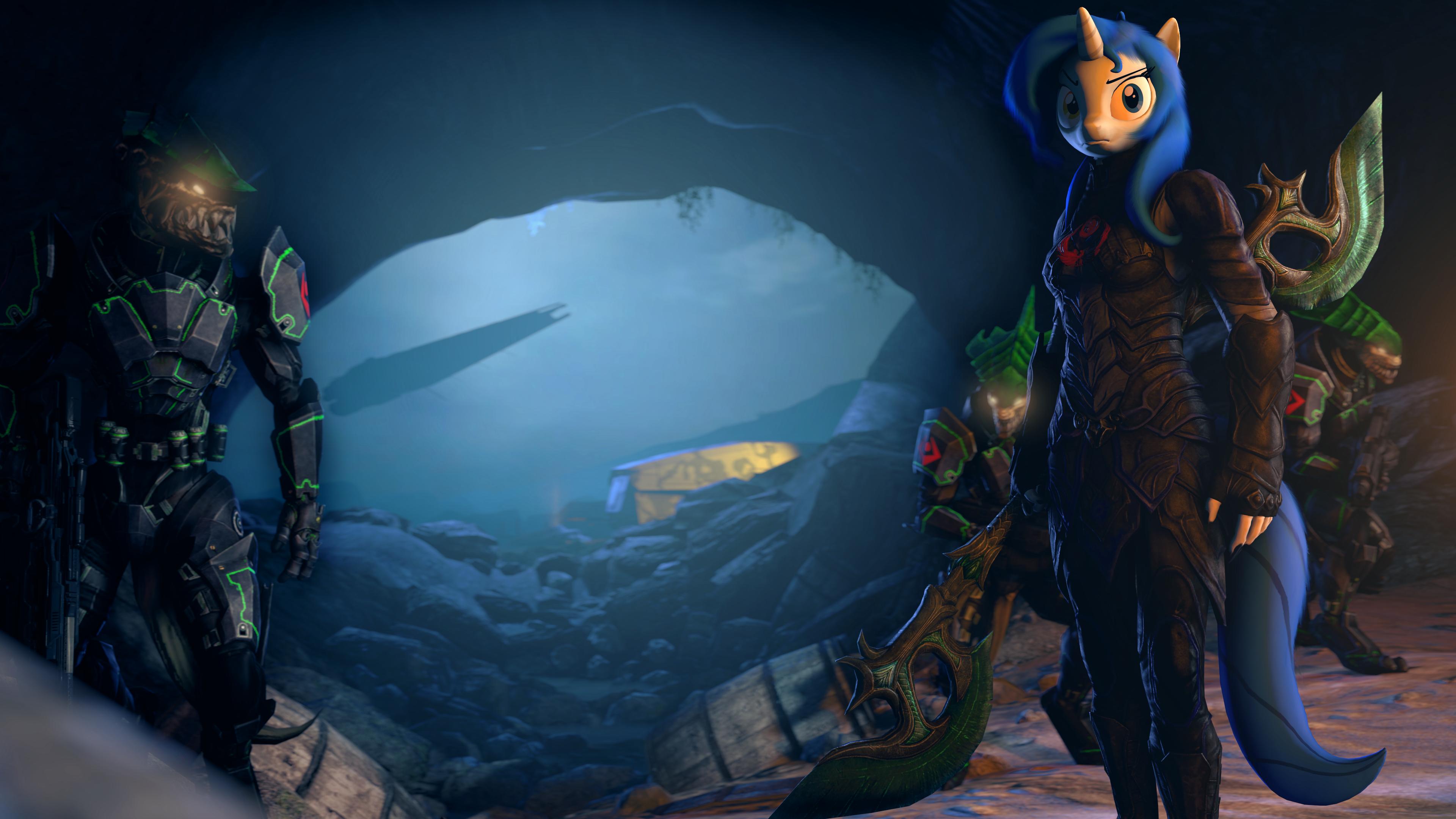 Cave dwelling by zOMG-a-DropBear